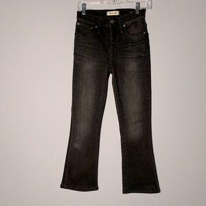 MADEWELL Cali-Demi Boot Black Jeans 24